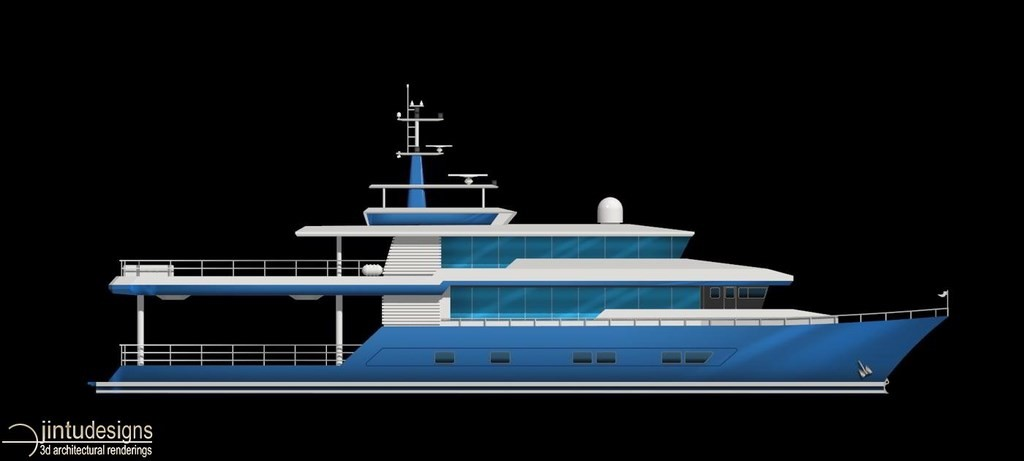 Chief Architect 2d Yacht Rendering