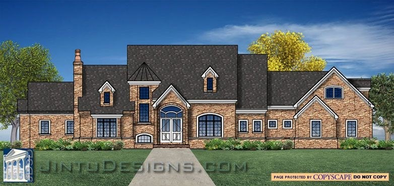 Front Elevation Plan And Side Elevation : D color elevation rendering
