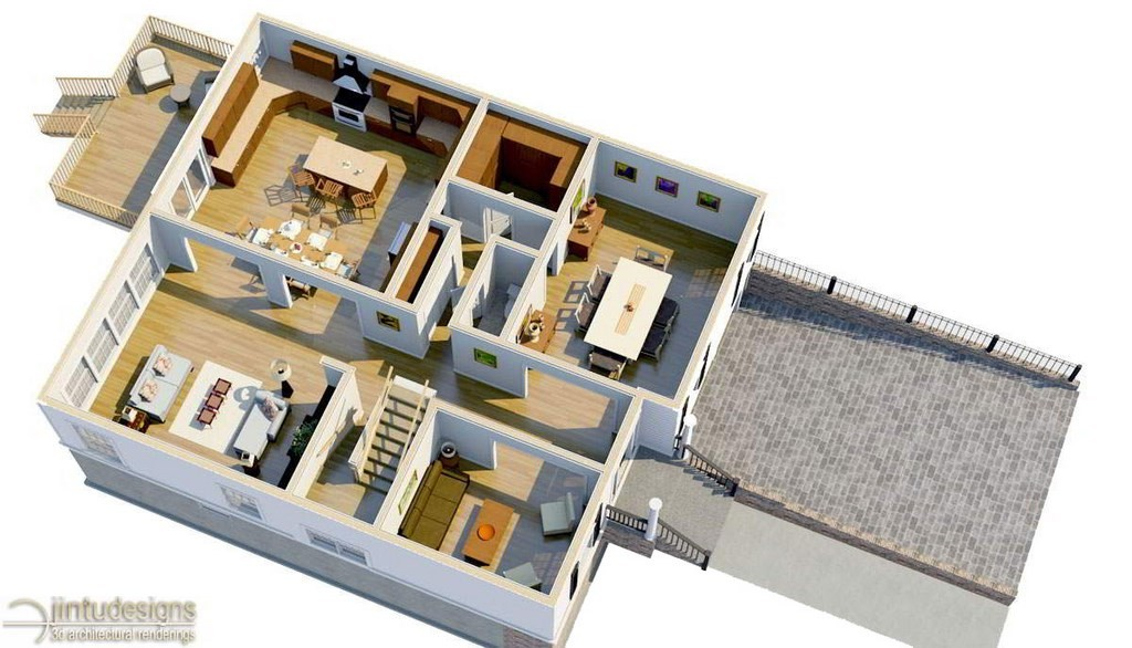 3d floor plan chief architect - 3d Floor Planning