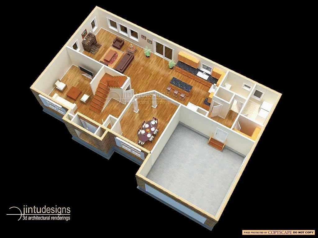3d Floor Plan Visual