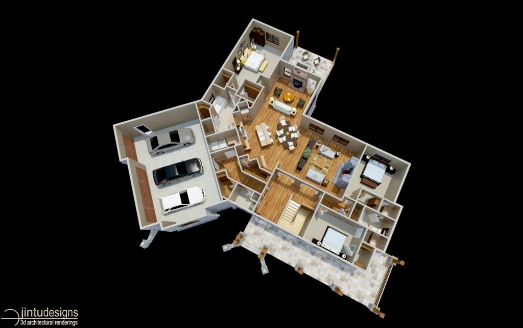 3d floor plan plan visualization