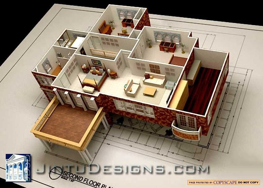 3d floor plan quality 3d floor plan renderings for 3d home floor plan design