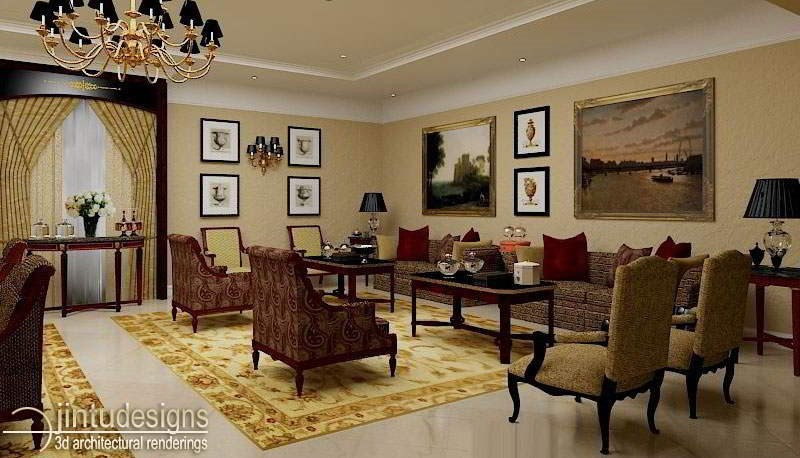 3d House Interior Rendering Design