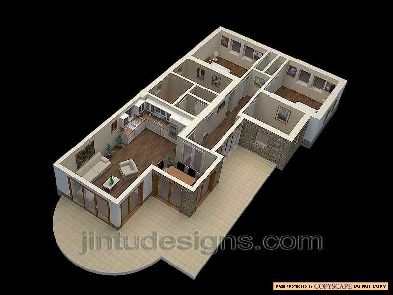 3d House Plan. 3d Floor Plans