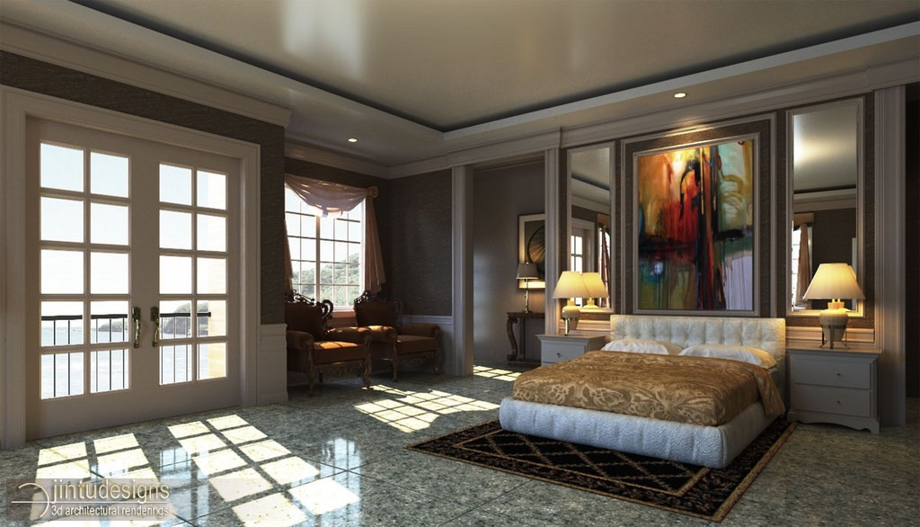 virgo studio design interior classic projects b rendering