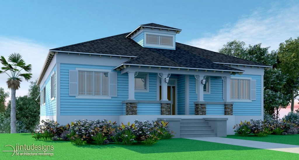 House Exterior Rendering