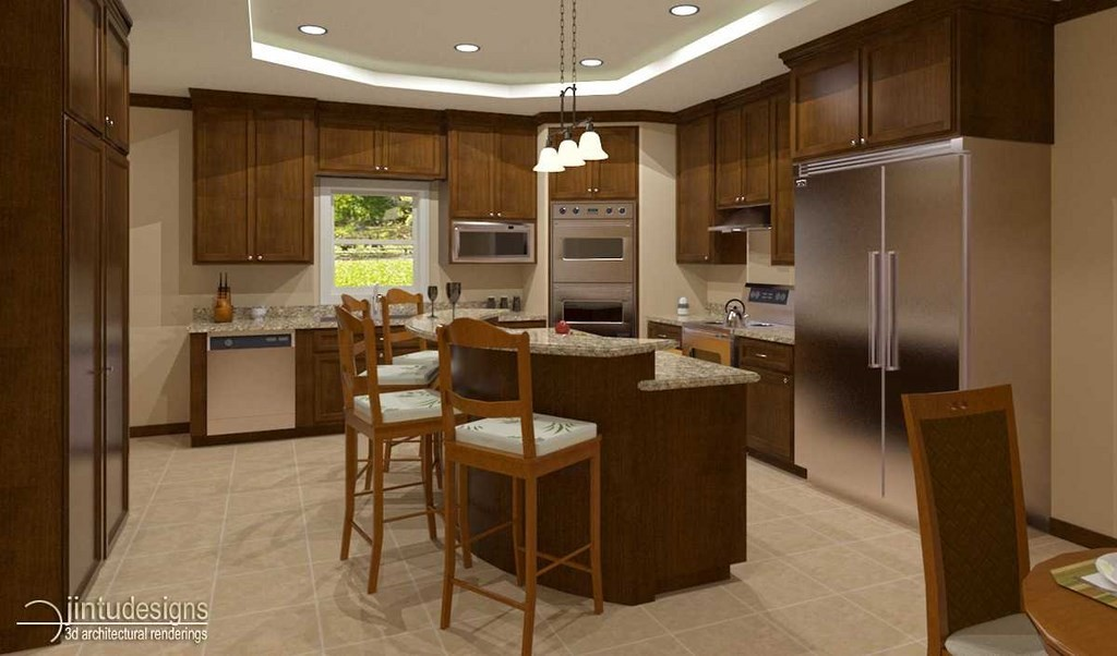 Bathroom Kitchen 3d Renderings Bathroom Kitchen