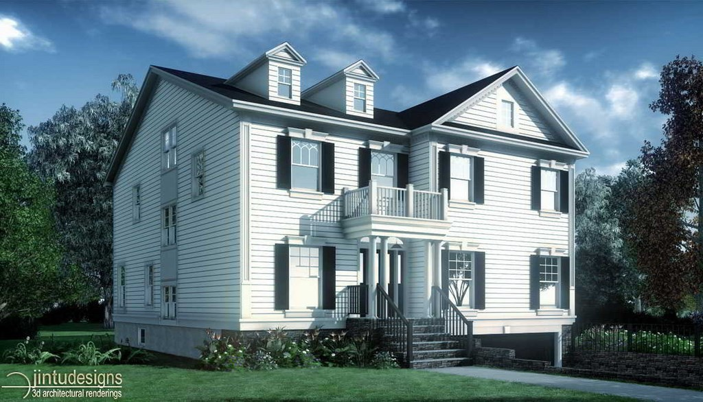 colonial architecture house design