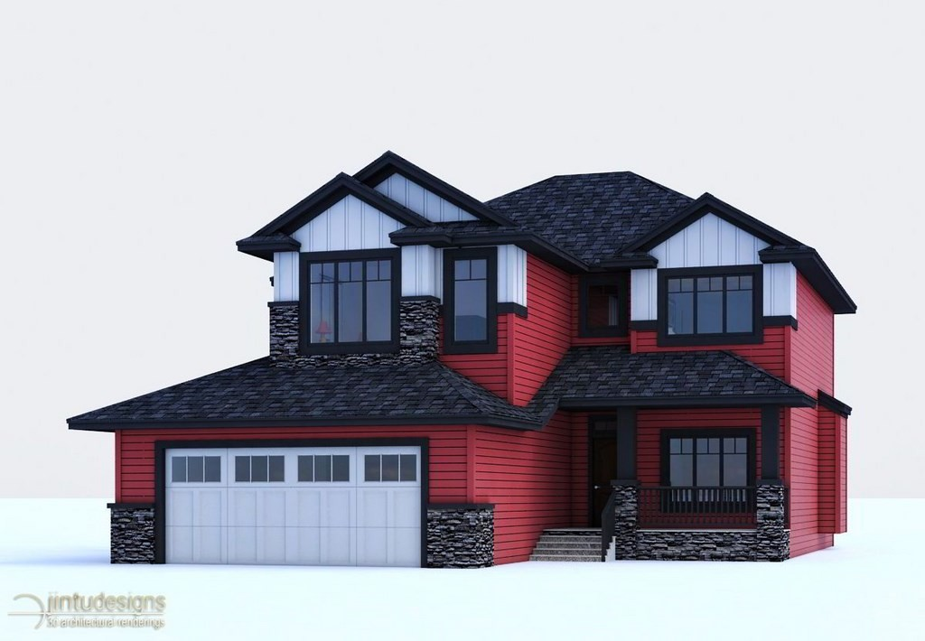 House Rendering no background