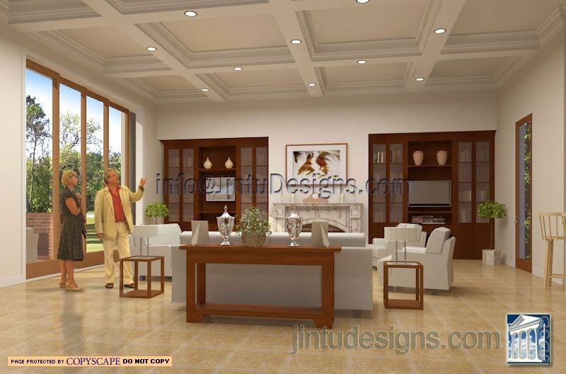 Living room  interior design and renderin. 3d Interior Rendering   Realistic Interior Renderings