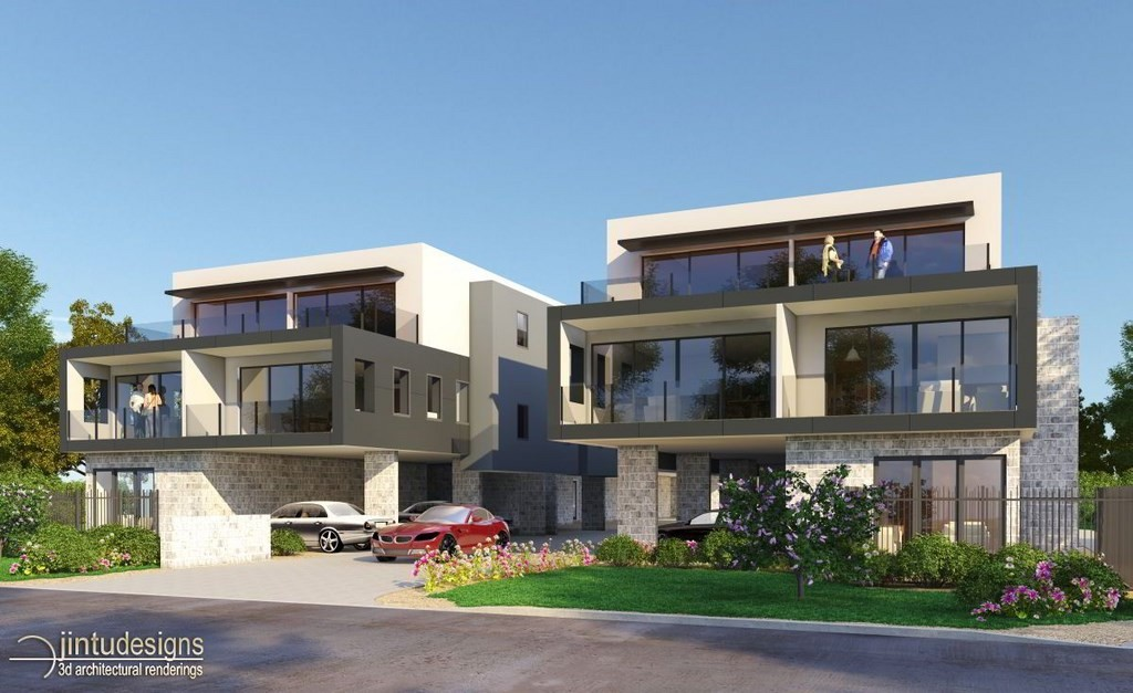 Residential Apartment design and rendering