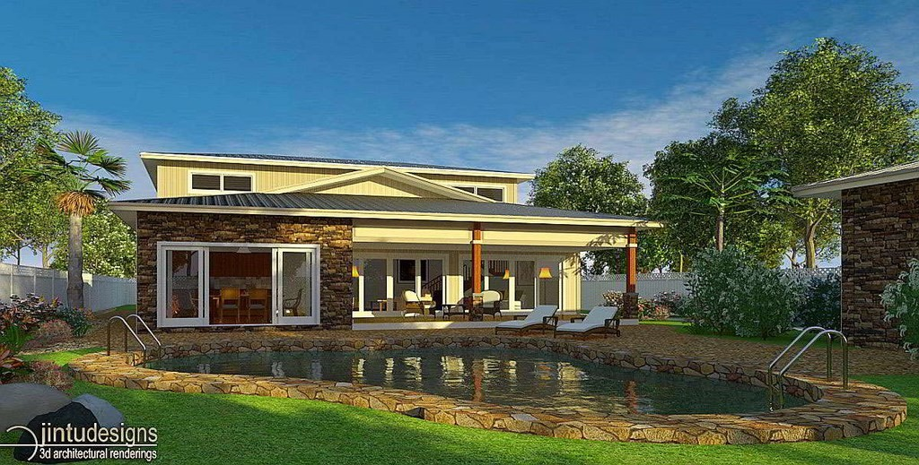 Residential Architectural Rendering