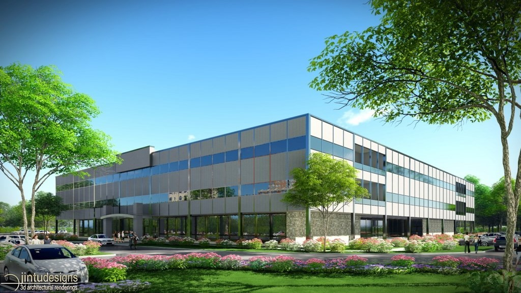Ordinaire Office Building Rendering