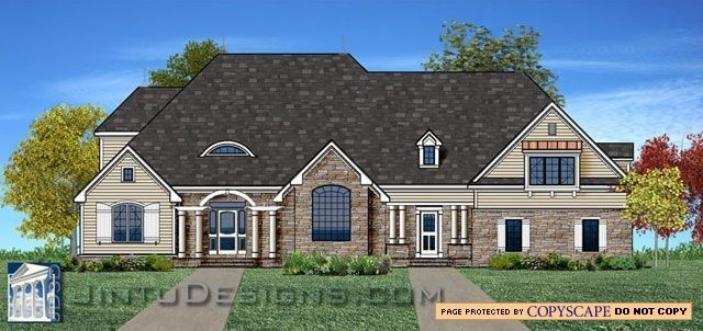 2d color elevation color elevation rendering for Different elevations of house