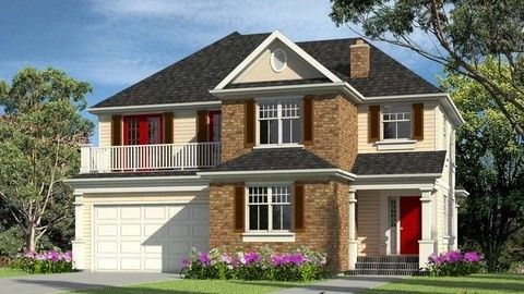 house rendering 3d exteriors