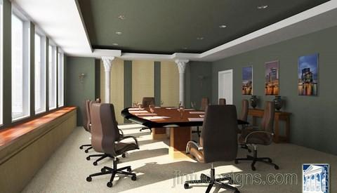 office conference room travel agency