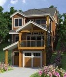 front view residential rendering