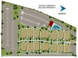 2d site plan rendering millikin university