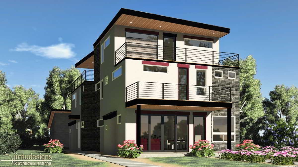 3d Architectural Rendering | Architectural Illustration
