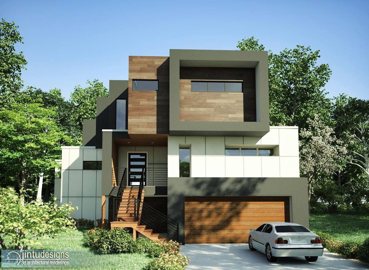 Photo realistic exterior rendering for Exterior 3d rendering