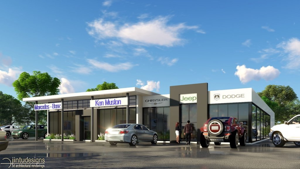 Commercial Architectural Rendering Service Company
